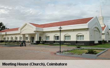 Meeting House (Church), Coimbatore