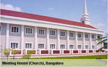 Meeting House (Church), Bangalore