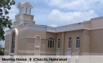 Meeting House II (Church), Hyderabad